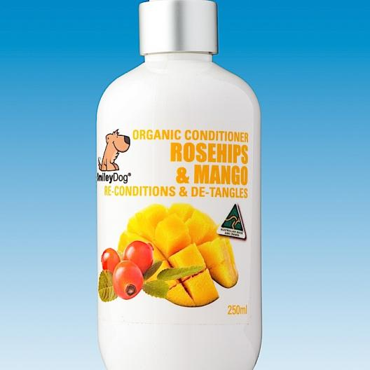 ORGANIC CONDITIONER ROSEHIPS & MANGO - 250ml