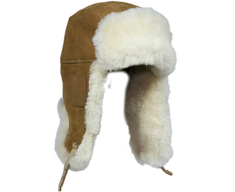 Sheepskin Hunters Hat